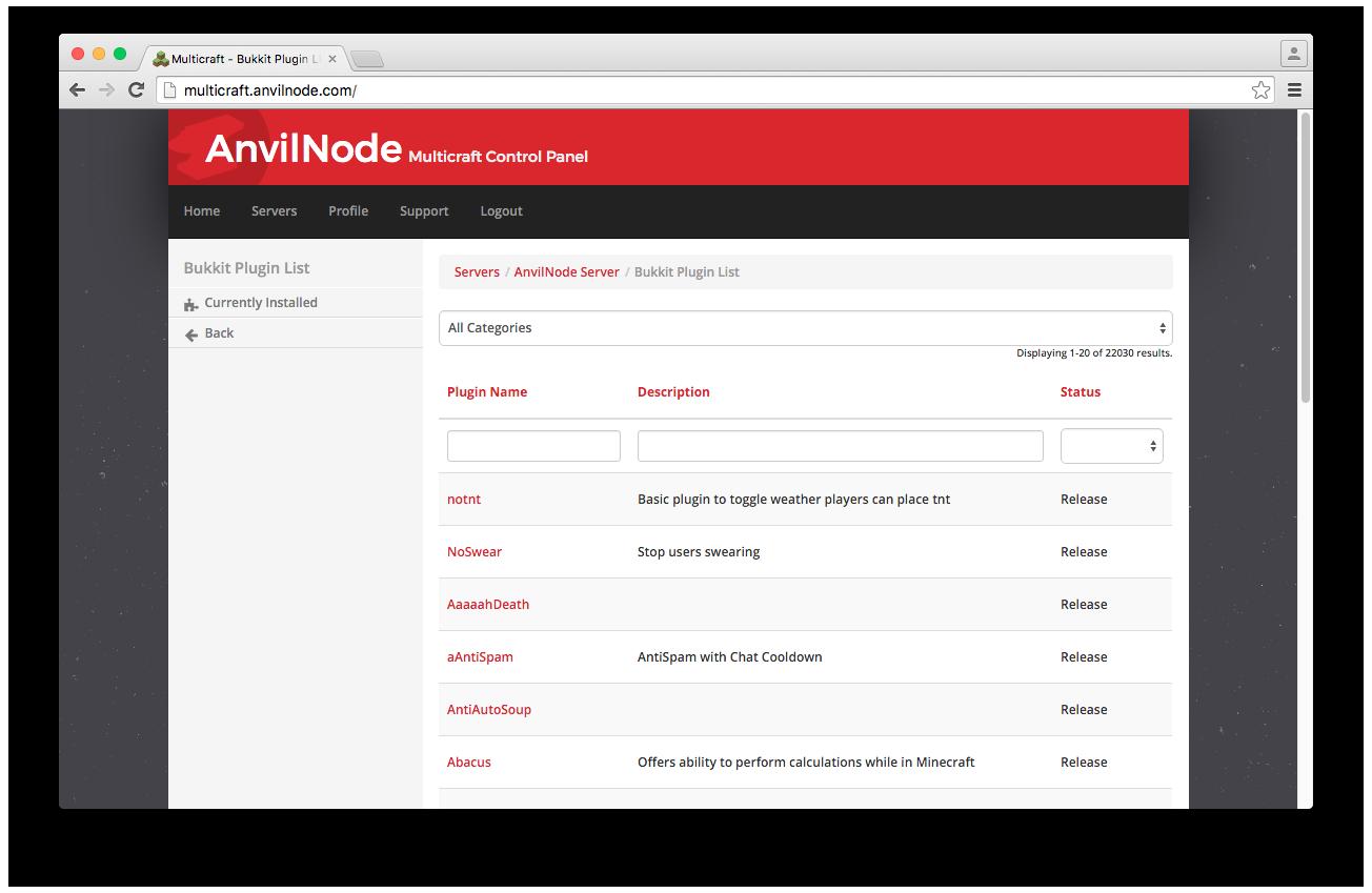 Installing Bukkit Plugins - Knowledgebase - Anvilnode